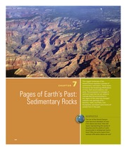 Chapter 7- Pages of Earths Past Sedimentary Rocks