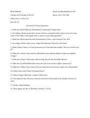 Csuf global second set of essay questions.docx