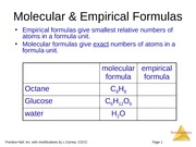 S14 - 3.2 - Stoichiometry and Mass Relationships