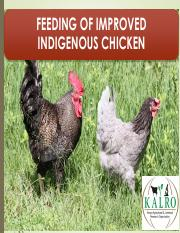 How To Make Chicken Feeds pdf - MAKING YOUR OWN FEEDS With the
