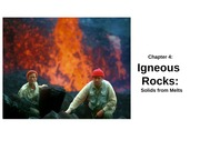 Chapter 4 - Igneous Rocks