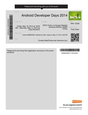 Android Tickets