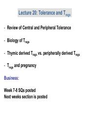 Lecture 18 Tolerance and Tregs.pptx.pdf