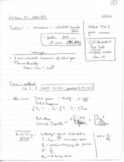 Lecture notes 10
