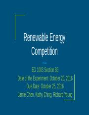 Lab # 7: Renewable Energy Competition.pptx