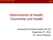 Class 3 - DOH and citizenship