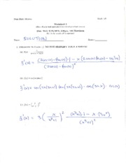 SolutionsWorksheet5