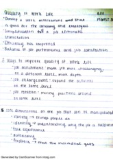 311 quality of life MGMT 358 NOTES_110(1)