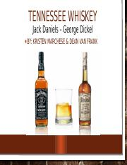 Tennessee whiskey - updated