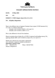 FLIGHT OPERATIONS NOTICES172