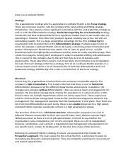 Exam case Lockheed Martin strategy, structure .docx