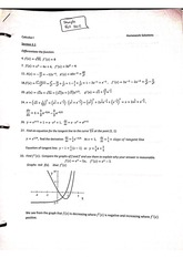 Derivatives of Polynomials and Exponential Functions problems with answers