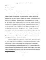 global issues-research paper