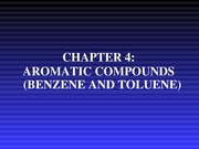 Chapter 4-Aromatic Compounds