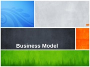 Lecture 4 Business Model