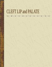 Cleft Lip and Palate.ppt