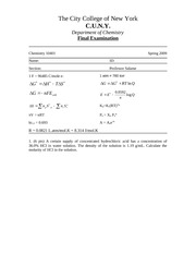 General Chem Note FE-S09-C104