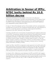Arbitration in favour of IPPs.docx
