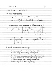CHEM 40 Spring 2014 Notes on Lecture 24