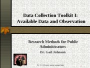 ch-7-Data-Collection-I-Available-data