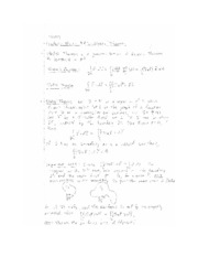 Stokes Theorem notes