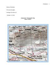 topography assignment .docx