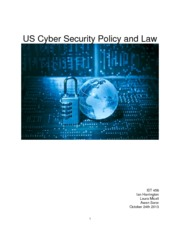 Cybersecurity paper IST 456