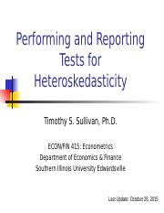 Performing and Reporting Heteroskedasticity Tests - Copy