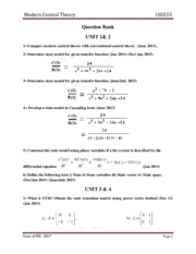 EEE-V-MODERN CONTROL THEORY [10EE55]-QUESTION PAPER