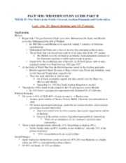 PLCP 3410 Study Guide --PART II