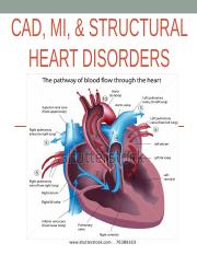 MS II CAD, MI, & structural heart disorders Student F16.ppt