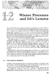 12_Wiener_Process_and_Itos_Lemma