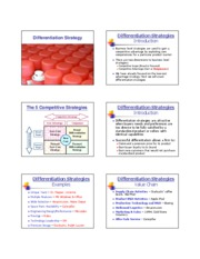 Slides - Uniqueness & Scope Strategies