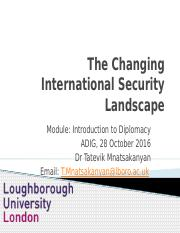 Lecture 4_The New Security Landscape
