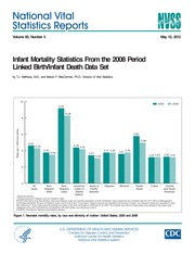 2012 CDC Vital Statistics Report on birthdefects