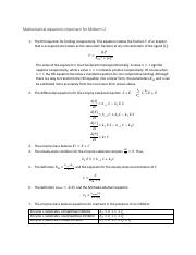 Mathematical equations important for Midterm 2.pdf