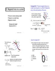 22. Magnetic force on a current.pdf