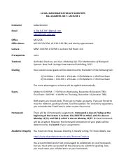 Softschools Multiplication Worksheets Excel Ls  University Of California  Los Angeles  Course Hero Single Replacement Worksheet Excel with Area Surface Area And Volume Worksheet  Pages Flifescia Syllabus And Schedule Last Modified  Regular And Irregular Plural Nouns Worksheets Excel