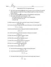 Freefall-Study-Guide-Answers