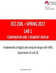 Lab5 (3) pdf - Lab 5 Digital Stop Watch Fundamentals of Digital and