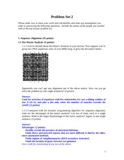 ProblemSet2_Sequence alignment, Dynamic programming_answer_2003