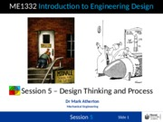 Session 5 - Design Thinking and Process