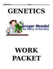 mendelian genetics worksheet mendelian genetics worksheet by c kohn wuhs. Black Bedroom Furniture Sets. Home Design Ideas