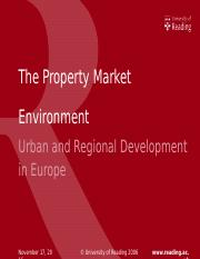 The Property Market Environment216.ppt