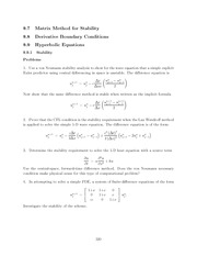 Differential Equations Lecture Work Solutions 320
