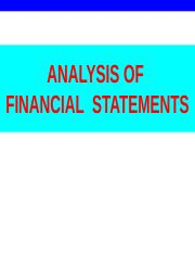 3ANALYSIS OF FINANCIAL STATEMENTS.ppt
