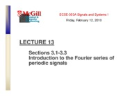 Chapter3 Fourier series