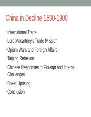 China in Decline 1800-1900.ppt