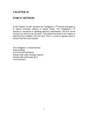 Chapter 10_Force Method