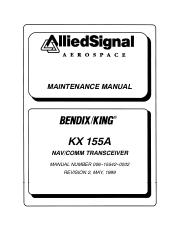 kx155a maintenance manual maintenance manual kx 155a nav comm